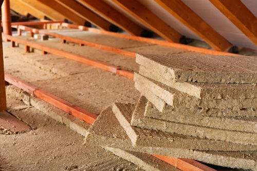 Installing Thermal Insulation Inside the Attic